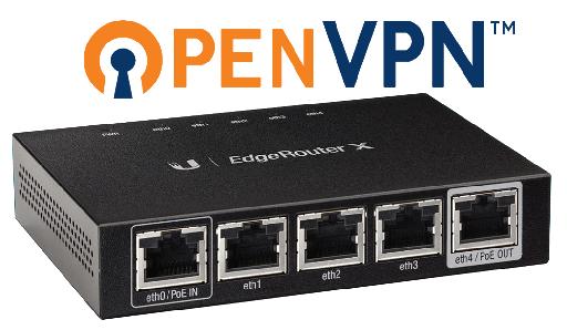 Setup OpenVPN Client on Ubiquiti EdgeRouterX